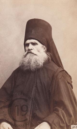 A Russian Orhtodox monk