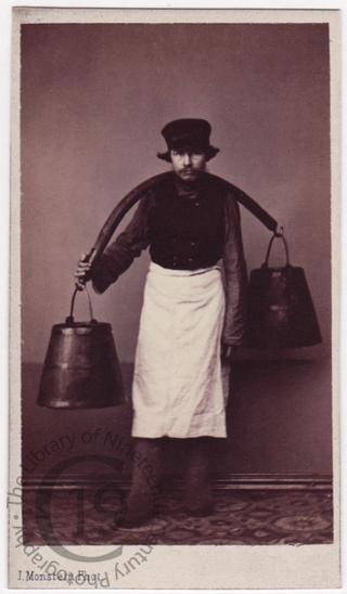 'House porter carrying water'