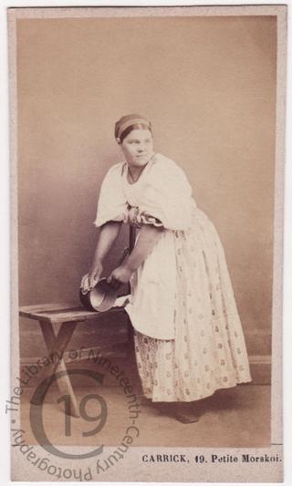 'Kitchen maid'