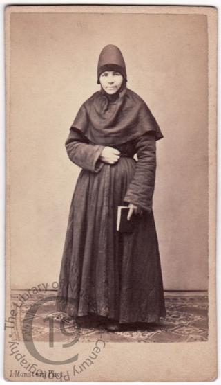 Russian Orthodox nun