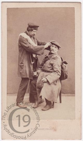 'Military barber'