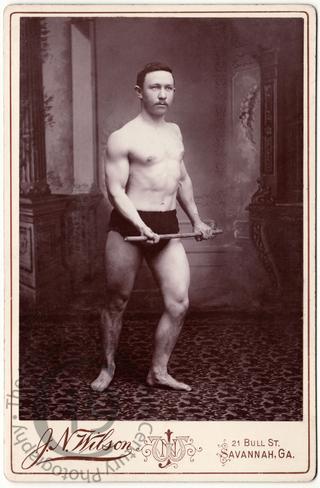Unidentified bodybuilder