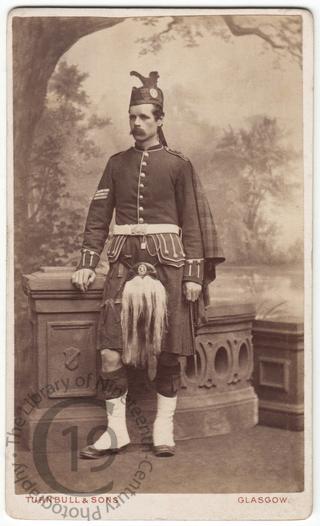 A sergeant in a Highland regiment