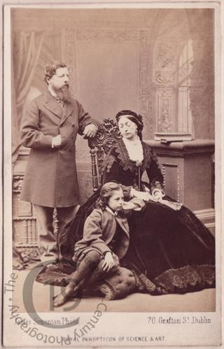 Lord Henry Loftus and his family