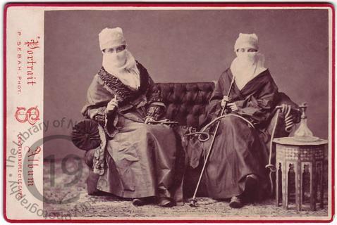 Englishwomen in Turkish dress