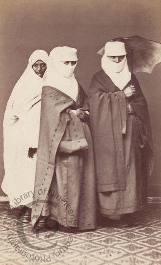 Turkish women and their servant
