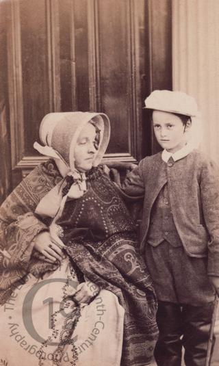 Viscount Portman and his mother