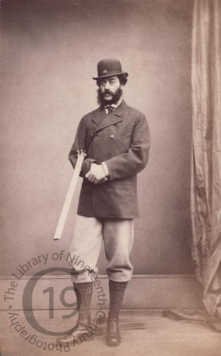 Unidentified man with shotgun