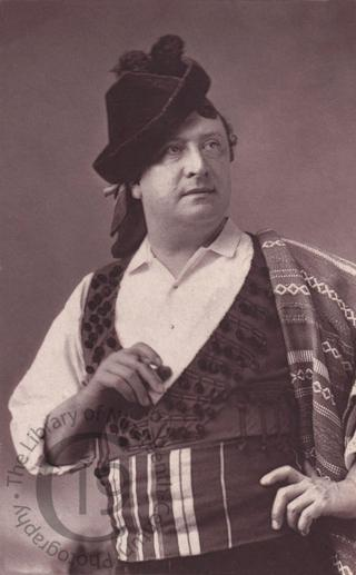 Charles Fechter in Spanish costume