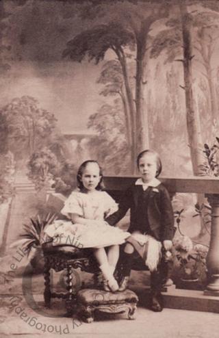 Children of Sir Michael Shaw-Stewart