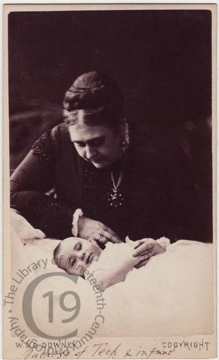 Duchess of Teck and child