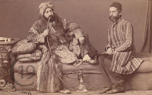 A Turk and his attendant
