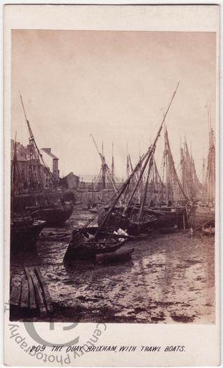 Trawlers at Brixham