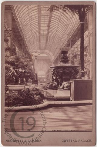 Interior of the Crystal Palace