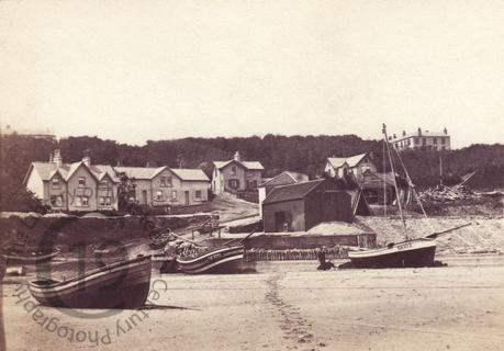 Fishing boats at Filey