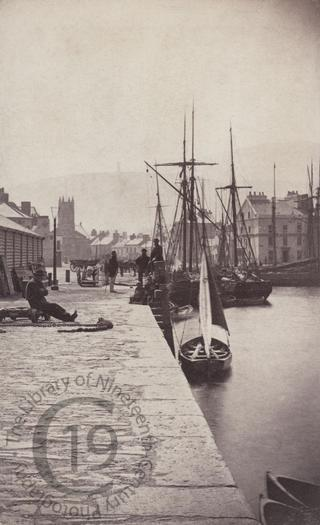 Quay in Ramsey, Isle of Man