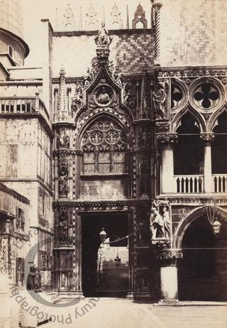 Entrance to the Doge's Palace