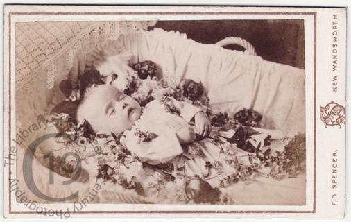 A dead baby