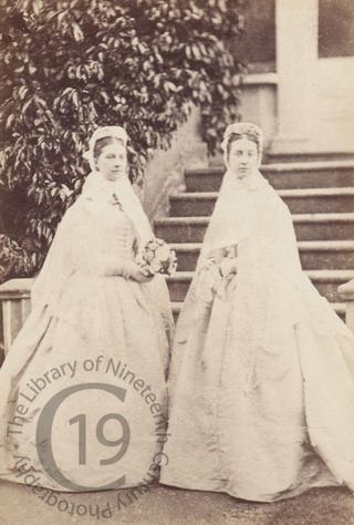 Unidentified bridesmaids