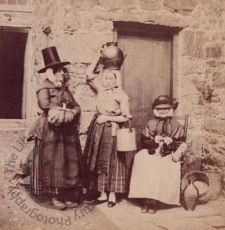 Three Welsh women at Llanberis