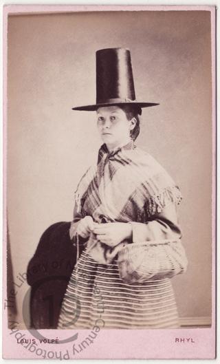 A Welsh girl