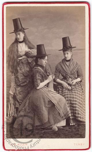 Three Welsh girls