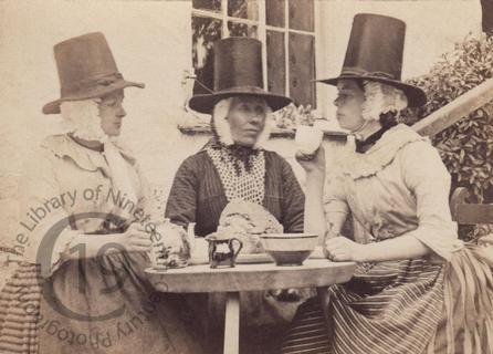 Three Welsh women