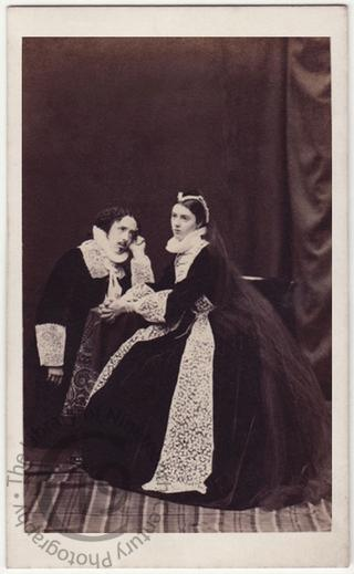 Hon Lewis Wingfield and Miss Georgina Moncrieffe