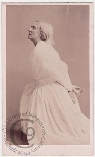 Adelaide Ristori as 'Marie Antoinette'