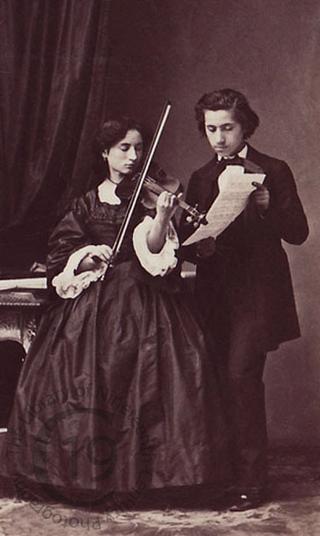 Angelo and Thérèse Ferni