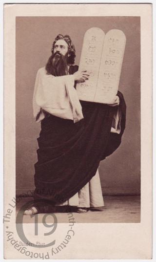 Louis-Henri Obin as 'Moses'