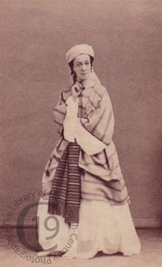 A performer in Rossini's 'Moïse et Pharaon'