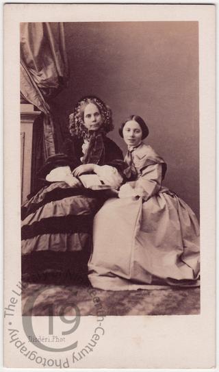 'Aunt Louisa and Amélie'