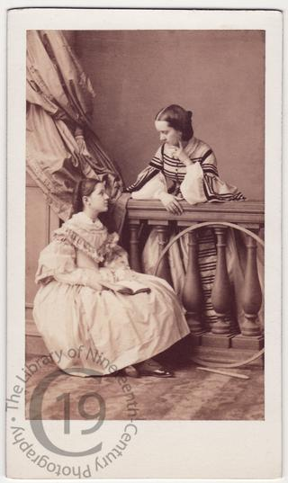 Comtesse de Chabannes and Mlle d'Havrincourt
