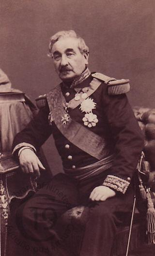 Le général Cousin-Montauban, comte de Palikao