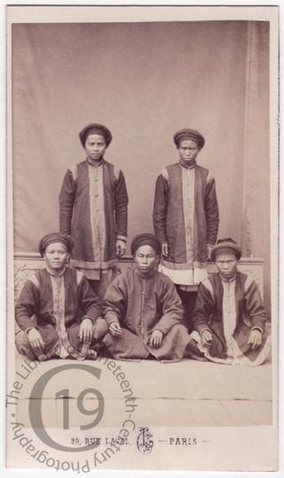 Annamite ambassadors' servants