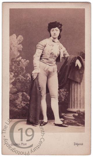 Mlle Blanche Montaubry
