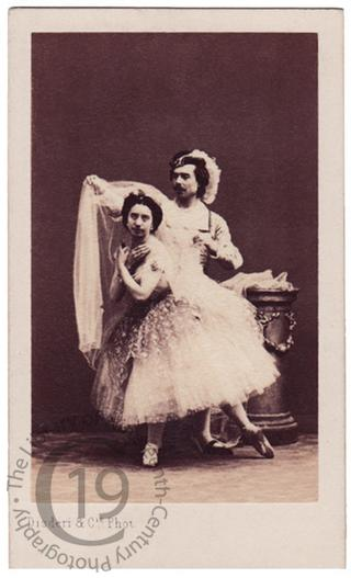 Mlle Amalia Ferraris and Louis Mérante