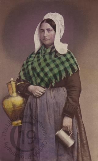 A Belgian milkmaid
