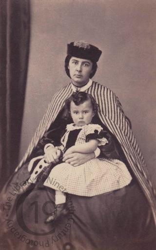 Unidentified mother and son