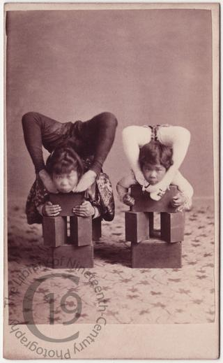 Japanese contortionists