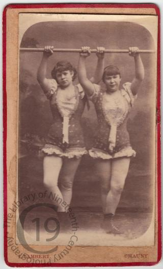 Female acrobats