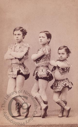Child acrobats