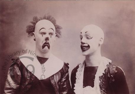 Unidentified clowns