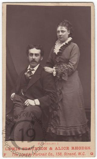 Louis Staunton and Alice Rhodes
