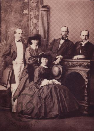 Archduke Rainer of Austria and family