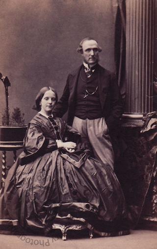 Captain and Mrs Garratt