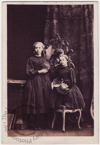 Misses Mary and Evelyn Grimston