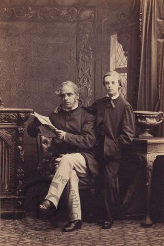 John Edward Lee and his son