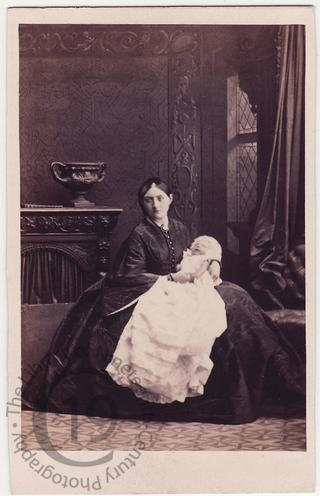 Mrs Wilbraham Lennox and child
